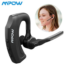 Mpow EM20 Single Wireless Headphones CVC8.0 Noise Cancellation 10hrs Talk Time Bluetooth Earbuds For iPhone XS Huawei Car Office