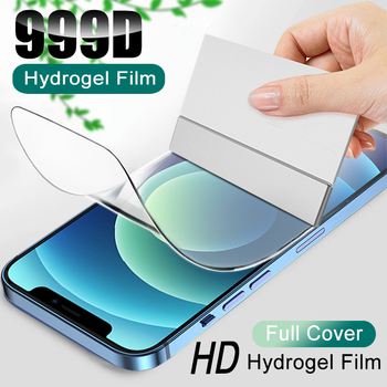 Full Cover Hydrogel Film For iPhone 11 12 Pro XS Max mini SE 2020 Screen Protector For iPhone 7 8 6 6S Plus X XR Film Not Glass 1
