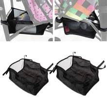 Baby Stroller Basket Newborn Stroller Hanging Basket Pram Bottom Organizer Bag(China)