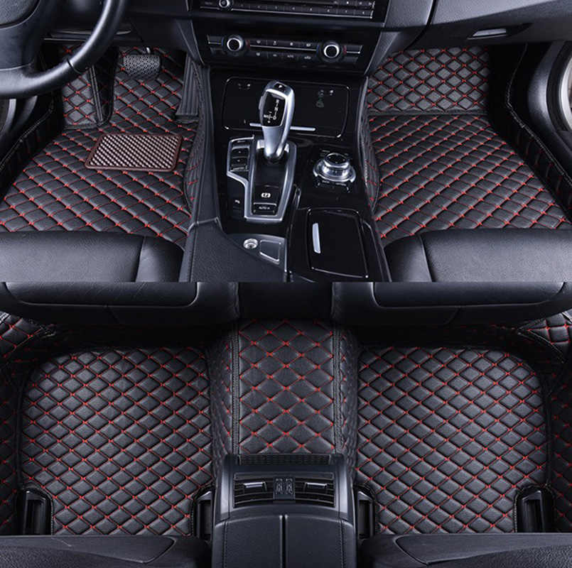 Design-3D-TPE-Gummifußmatten für Skoda Octavia 2 1Z Facelift Hatchback Schrägh1E