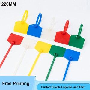 """220 мм/8,7 """"одноразовые нейлоновые этикетки на молнии, пластиковые бирки, сетевой кабель, маркер для управления проводом, самоблокирующийся, п..."""