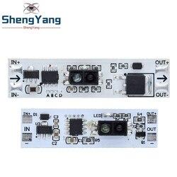 Короткое расстояние сканирования Сенсор трите Сенсор модуль автоматического включения света 36 Вт 3A постоянного Напряжение для Авто умный ...