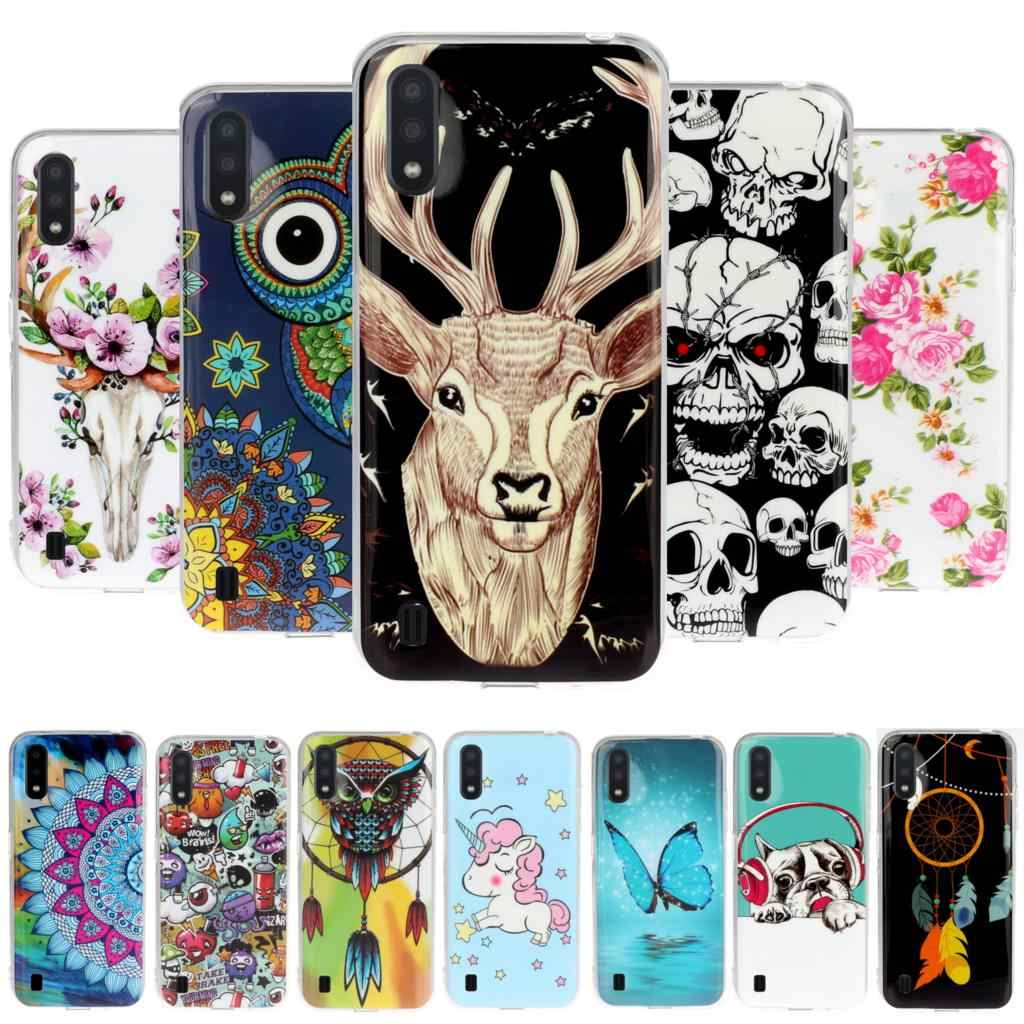 Penguin Phone Cases For etui Samsung A60 Soft TPU Shell sFor Case Samsung Galaxy accesorios M40 A41 A40 A50 M20 M11 M30 M10 Case