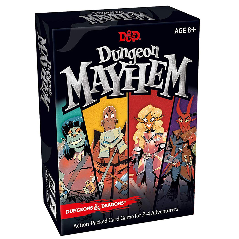 Dungeon Mayhem And Dungeons Dragons Card Game 2–4 Players 120 Cards Free Shipping Board Games