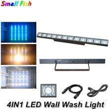Luz conduzida profissional da lavagem da parede 12x3w dmx barra do diodo emissor de luz dmx linha barra de luz da parede feixe de luz strobe lavagem led luz de discoteca dj efeito de iluminação