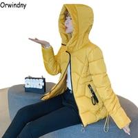 Orwindny Plus Size S 4XL 5XL 6XL Female Jacket Thick Warm Womens Parka Coats Hooded Cotton Padded Jackets Down Cotton Jacket