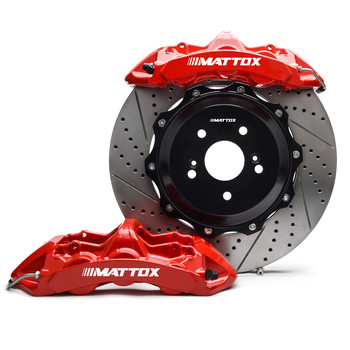 Mattox Big Brake Kit One-piece Forged 6POT Piston Calipers 378*32mm Disc for Mercedes-Benz CL600 (W216) 2007 2014 Front 19inch
