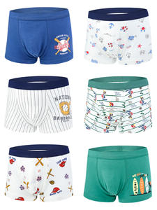 Boxer Briefs Underpant Teenager-Clothes Organic Boys Cotton Soft for 6-Pack