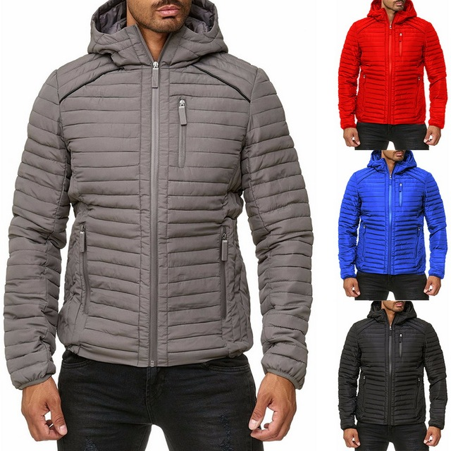 Winter Men's Coats New Thick Warm Male Jackets 2019 Fashion Padded Casual Hooded Parkas Outwear Windbreak Mens Brand Overcoats