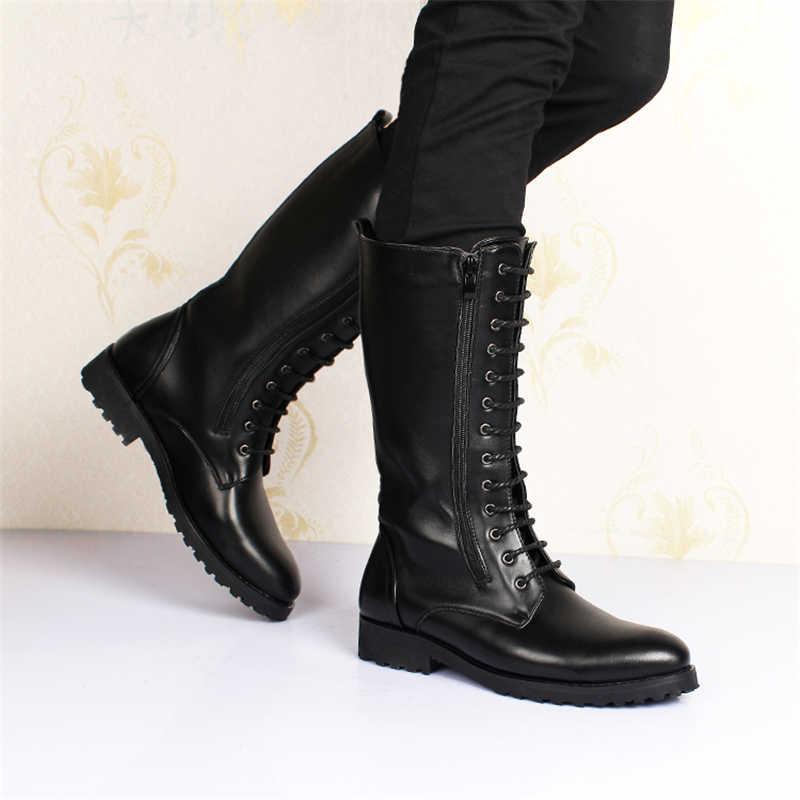 Mannen Winter Laarzen Mannen Laarzen Veiligheid Schoenen Nieuwe Warm Houden Mannen Laarzen Werken Schoenen Mode Hoge Buis Snowboots winter Mannen Schoenen