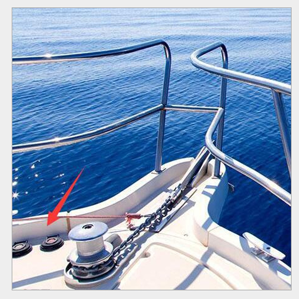 Marine Boat Anchor Windlass Winch Foot Compact Switch Up/Down