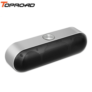 Image 1 - TOPROAD Bộ Loa Di Động Bluetooth Không Dây Âm Thanh Stereo Boombox Loa Có Mic Hỗ Trợ TF AUX FM Radio USB Altavoz Enceinte