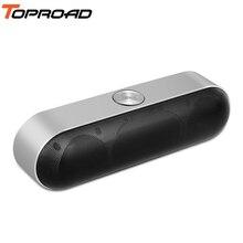 TOPROAD taşınabilir bluetoothlu hoparlör kablosuz Stereo ses Boombox hoparlörler Mic ile destek TF AUX FM radyo USB Altavoz enceinte