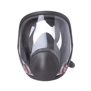 Full Face Facepiece Respirator Kit Painting Spraying Dust Silicone Gas Mask Drop Shipping - discount item  17% OFF Workplace Safety Supplies