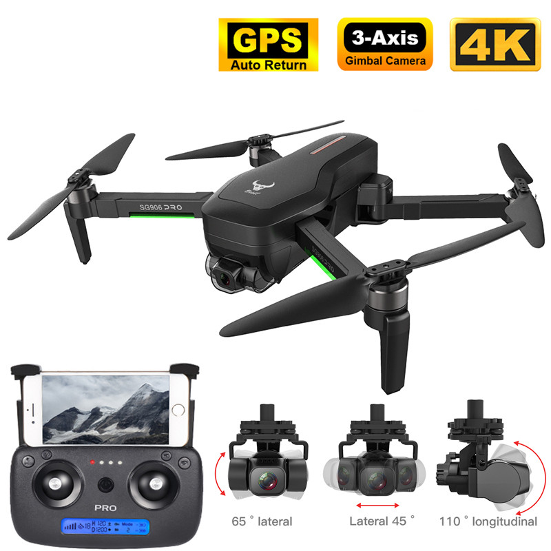 Best SG906 PRO2 GPS Drone with 5G WiFi FPV 4K 3-axis Gimbal 16MP Dual Camera Profesional Brushless RC Quadcopter Dron Helicopter