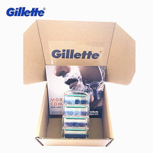 Gillette Fusion Blade for Shaving 4 Replaceable Cassettes Shaving Fusion Shaving Cartridge Fusion Removable Razor Blades for Men