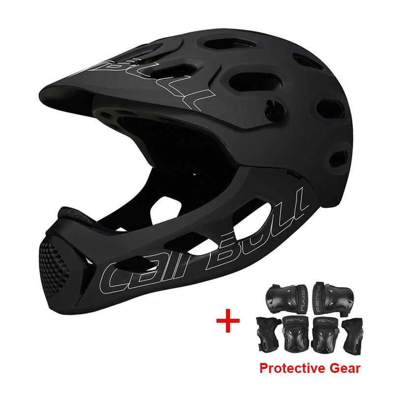Sports extrêmes DH AM vtt casque de vélo avec mentonnière amovible et équipement de protection route VTT Skateboard casque de cyclisme