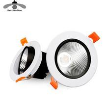 Led Downlight 5W 7W 9W 12W Ronde Verzonken Lamp 220V 110V Dimbare Led Lamp slaapkamer Keuken Indoor Led Spot Verlichting