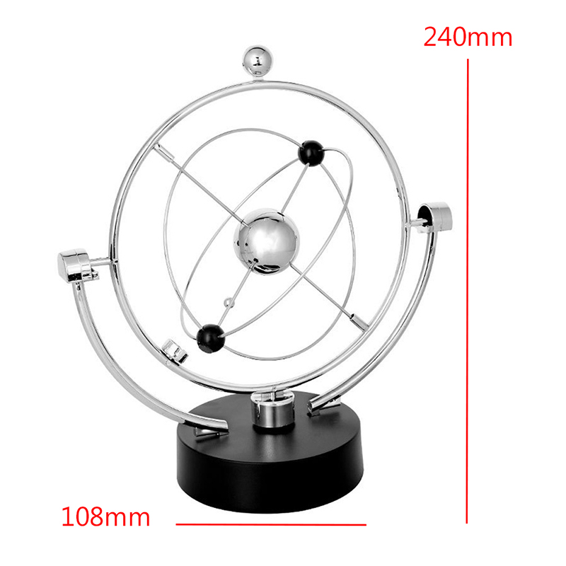 Kinetic Orbital Revolving Gadget Perpetual Motion Desk Office Art Decor Toy Gift DXAC