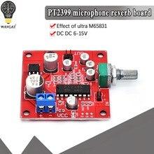 WAVGAT PT2399 Microfone Reverb Placa Placa de Reverberação No Amplificador Módulo de Função