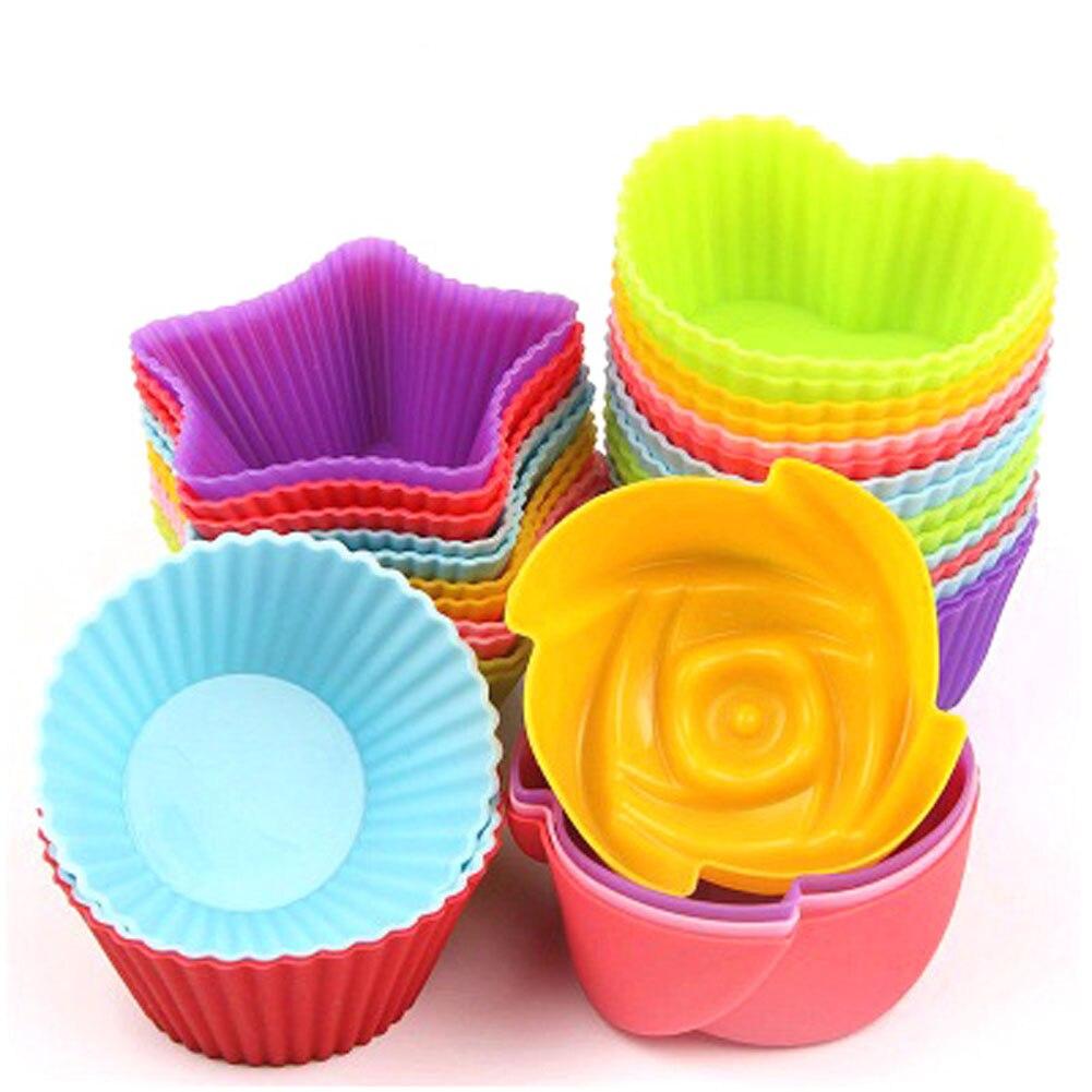 1 шт. силиконовая форма для торта, помадка для украшения маффина, шоколада, силиконовая форма для кексов, форма для выпечки, DIY Инструменты для украшения торта Принадлежности для выпечки    АлиЭкспресс - форма для выпечки