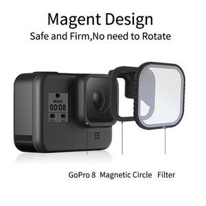 Image 2 - Telesin磁気cpl nd 8/16/32 フィルター移動プロ 8 hero8 polariziedフィルターND8 ND16 レンズレンズアクセサリー