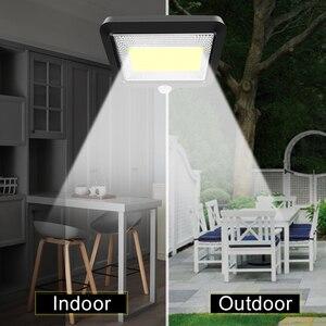 Image 5 - 56 led ソーラーライト屋外屋内ガーデンライト防水 pir モーションセンサー壁ランプと分離可能なソーラーランプライン