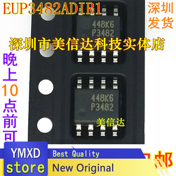 10pcs/lot Package Mail EUP3482ADIR1 P3482 3482 A New Power Supply Chip Imported From Liquid Crystal SOP-8 1