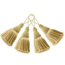 4 шт домашний декор висячая веревка шелковая кисточка бахрома