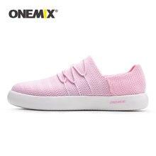 Мужские и женские кроссовки для скейтбординга onemix розовые