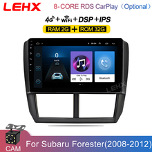 LEHX 9 Inch 2din Android 8,1 Auto Radio Android-Player für 2008 2009 2010 -2012 Subaru Forester GPS Audio host Multimedia Player