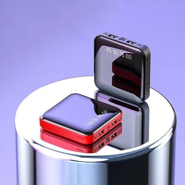 Sindvor Batería Externa de 20000mAh para móvil, Cargador rápido, portátil, para Samsung, Xiaomi, iPhone