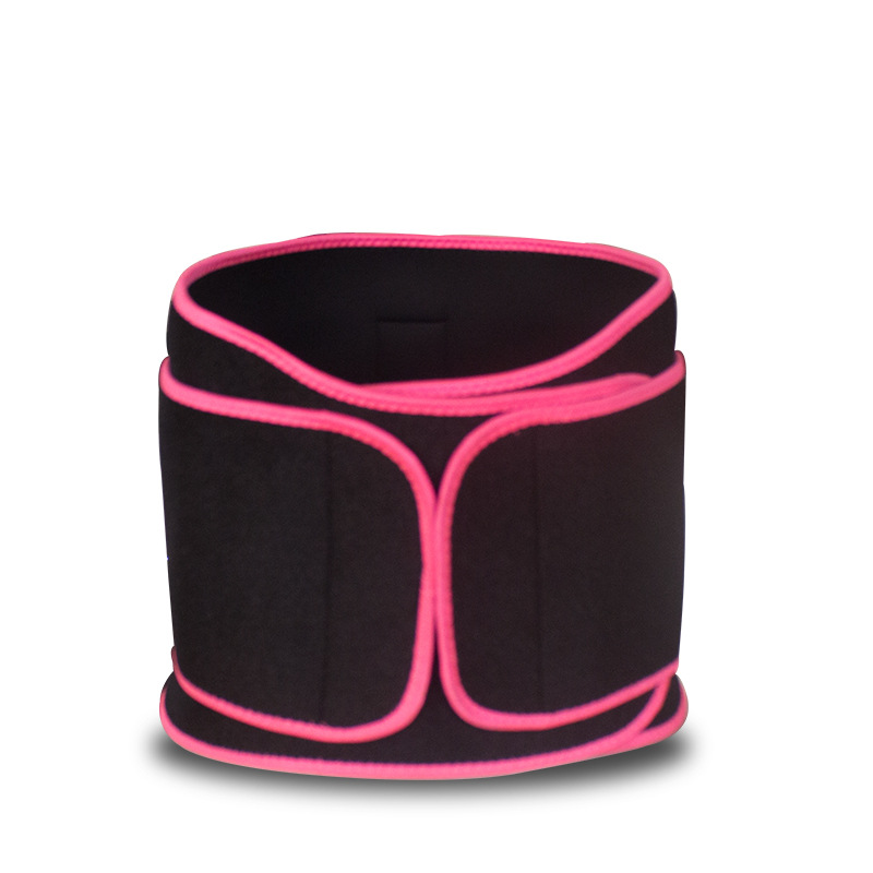 Cross Border New Products Violent Khan Fitness Waist Protection Belt Corset Sport Girdle Men And Women Sports Fitness Stretch Be