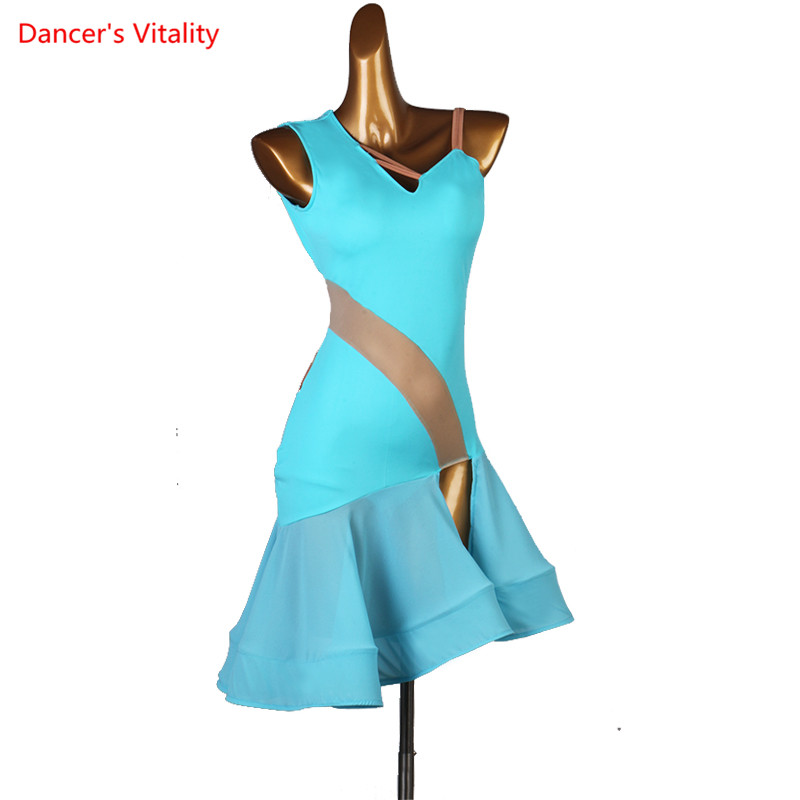 Custom Made Latin Dance Competition Costumes Ladies Latin Dress Salsa Dance Clothes Latin Salsa Dress Modern Dance Dress