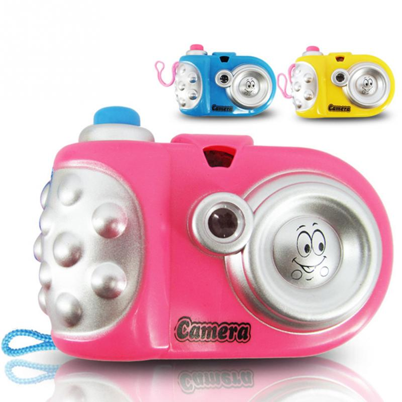 Novel Cartoon Projection Camera Toy Cartoon Projection Nursery Toys Children Educational Toys Baby Gift