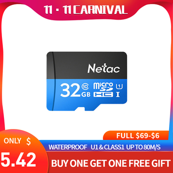 Netac P500 micro sd card 16gb Ocean Blue Class 10 cle tarjeta tf card tablet tf flash memory card hafiza karti data smartphone
