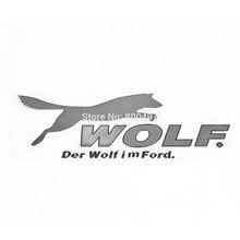 Neueste 3D Auto Stamm Nickel Legierung Abzeichen Emblem Aufkleber Zubehör Klebe Styling Abzeichen Aufkleber Für Wolf Der Wolf im Wolf
