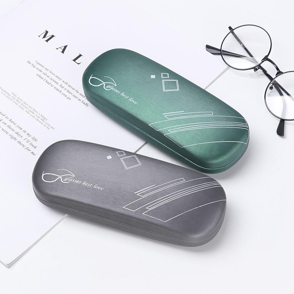 Fashion Portable Unisex Glasses Box Leather PU Myopia Glasses Case Sunglasses Reading Eyewear Case Containers Eyewear Protector