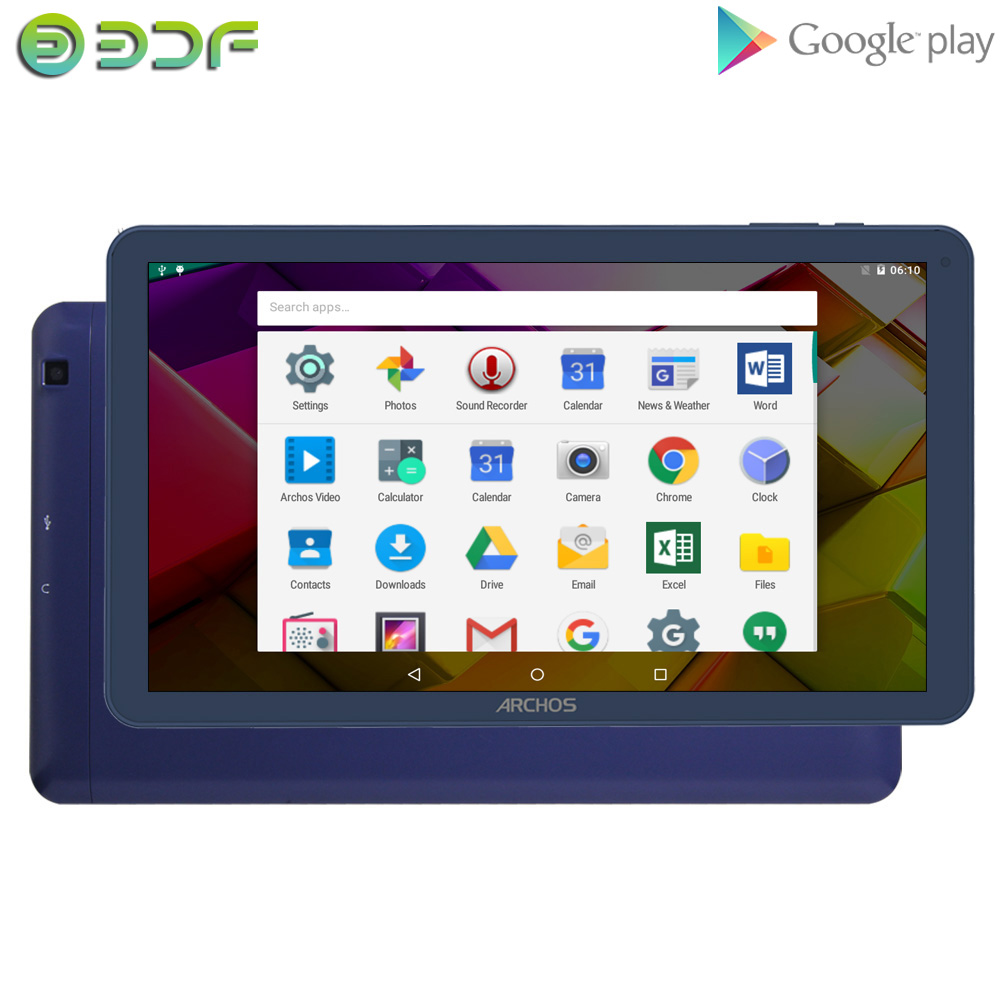 New BDF 10 Inch  Android 5.1 Quad Core Tablet 16GB ROM  Bluetooth WIFI Tablets Mobile Phone Sim Google Play WIFI