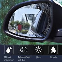 Película para espejo retrovisor impermeable para coche, pegatina protectora antiniebla, protector de lluvia, pegatinas de repuesto para todos los coches, 2 uds.
