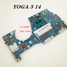 La placa base NM-A381 es adecuada para Lenovo YOGA3 14, notebook, I5-5200U CPU DDR3 100%, prueba completa