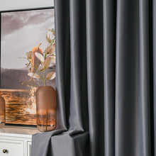 Modern Curtains For Living Room Bedroom High Shading 95% Window Curtain Shower Set Produtos Para Casa Cortina Rideau Tende Binds