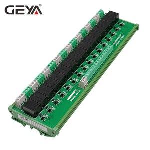 Image 3 - GEYA 16 grupos 1SPDT 1NC1NO módulo de relé para AC DC 5V 12V 24V relé PLC