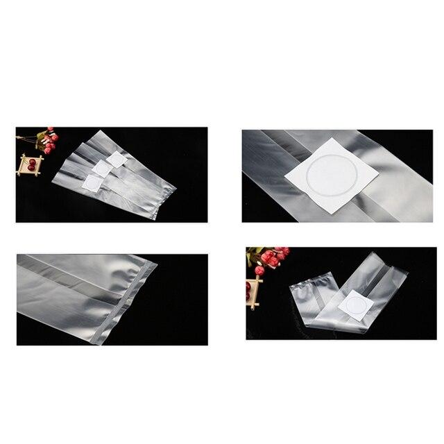 ¡Promoción! 100 Uds bolsa de cultivo de champiñones Spawn 320MM x 500MM bolsas de setas de granja Gg bolsa presellable de alta temperatura