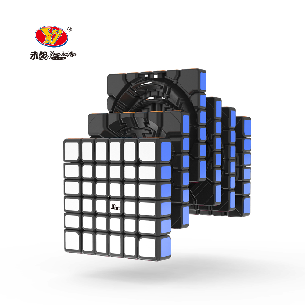 Original YJ MGC 6 Cube 6x6 magnetic magic cube yongjun MGC 6 magnets cubo magico puzzle speed cubes educational toys for kids