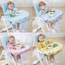 Saliva Towel Dining-Chair Apron Bib Table-Cover Food-Feeding-Accessories Newborns Burp