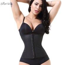 Латексный тренажер для талии, Корректирующее белье для тела, пояс для похудения, моделирующий ремень, стройнящий фигуру, женский пояс большого размера, Cincher, колумбийские пояса