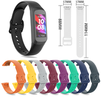 soft tpu Strap For Samsung Galaxy Fit SM-R370 Smart Watch Band Soft TPU Bracelet Replacement Strap Watch Accessories (1)