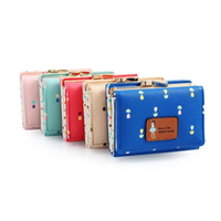 Women cute purse OXLEAZ OX12142 RFID Purse Women Hasp Zipper Wallets Cow Leather Female dobble Purse Long Womens Wallets Ladies Clutches Phone Pocket Purse Card Holder Patchwork Women Long Wallet