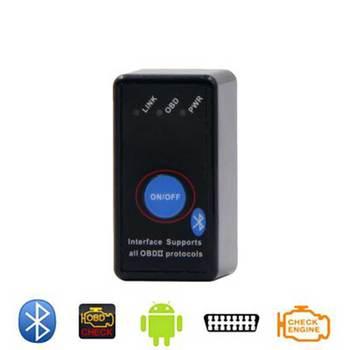 PIC18F25K80  Chip Mini Bluetooth ELM327 V1.5 OBD2 Code reader Power Switch on/off 12V OBDII ELM 327 Diagnostic tool Scanner